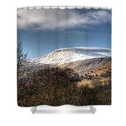 Fan Fawr Brecon Beacons 3 Shower Curtain