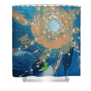 Fanciful Abstract Shower Curtain