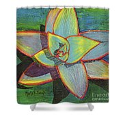 Fanciful Agave Shower Curtain