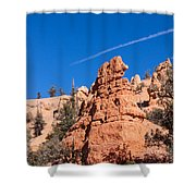 Fanciful Rock Shapes Shower Curtain