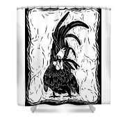 Fancy Tail Shower Curtain