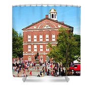 Faneuil Hall  Cradle Of Liberty Shower Curtain
