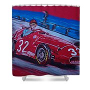 Fangio At Monaco 57 Shower Curtain