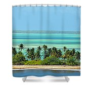 Fanning Island Shower Curtain