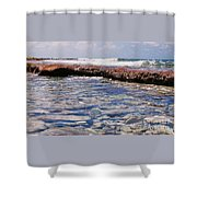 A Scene From Fanning Island # 2 Shower Curtain