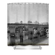 Fanning Springs Shower Curtain