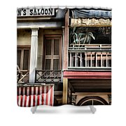 Fanny Anne's Saloon Shower Curtain