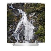 Fantail Waterfalls Shower Curtain