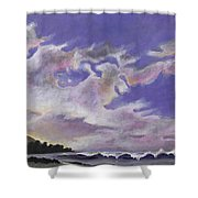 Fantastic Sunset North Shore Oahu Hawaii Shower Curtain