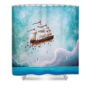 Fantastic Voyage Shower Curtain
