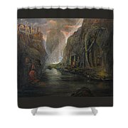 Fantasy 2 The Mystery Of A Dream Shower Curtain