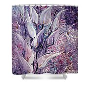 Fantasy Callas Shower Curtain