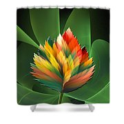 Fantasy Flower 2 Shower Curtain