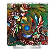 Fantasy Flower 3 Shower Curtain