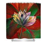 Fantasy Flower Shower Curtain