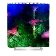 Fantasy Flowers Traveling Pigments Hp Shower Curtain