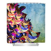 Fantasy Fun And Whimsical Shower Curtain