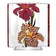Fantasy Iris July 2013 Shower Curtain