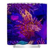 Fantasy Lionfish Shower Curtain
