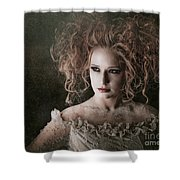 Fantasy Mystical Girl Shower Curtain
