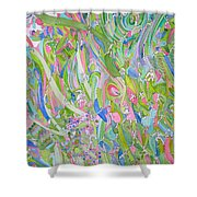Fantasy Of Figures Shower Curtain