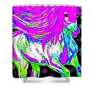 Fantasy Painted Dream Horse Shower Curtain