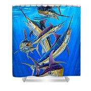 Fantasy Slam Shower Curtain