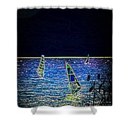 Fantasy Shower Curtain by Sotiris Filippou