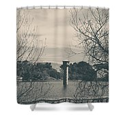 Far From Me Shower Curtain