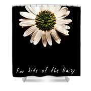 Far Side Of The Daisy Fractal Version Shower Curtain