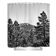 Far Side Of The Mountain Shower Curtain