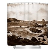 Faraid Head Durness Scotland Shower Curtain