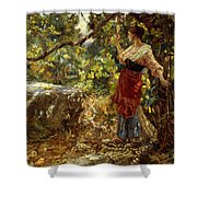 Faraway Thoughts Shower Curtain