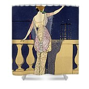 Farewell At Night Shower Curtain
