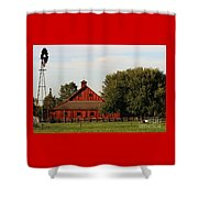 Farm-3582 Shower Curtain
