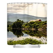 Farm By The Connecticut Shower Curtain