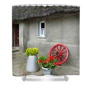 Farm Cottage Shower Curtain