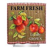 Farm Fresh-jp2380 Shower Curtain