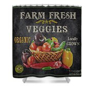 Farm Fresh-jp2637 Shower Curtain