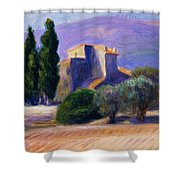 Farm House In Provence Shower Curtain