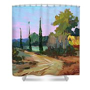 Farm In Provence Shower Curtain
