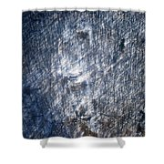 Farm In The Woods On A Hill Shower Curtain