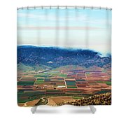 Farm Land Shower Curtain