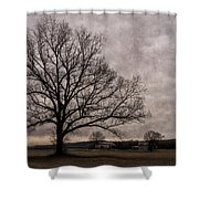 Farm Land Near Matson Mo Dsc00412 Shower Curtain
