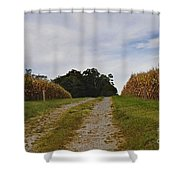 Farm Lane Shower Curtain
