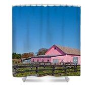 Farm Like A Girl Shower Curtain