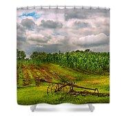 Farm - Organic Farming Shower Curtain