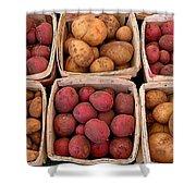 Farm Potatoes Shower Curtain