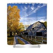 Farm Road Shower Curtain