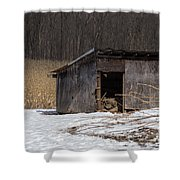 Farm Shed Shower Curtain